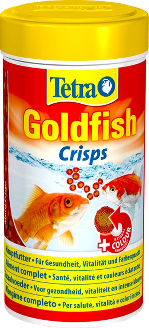 Tetra Goldfish Crisps корм чипсы для золотых
