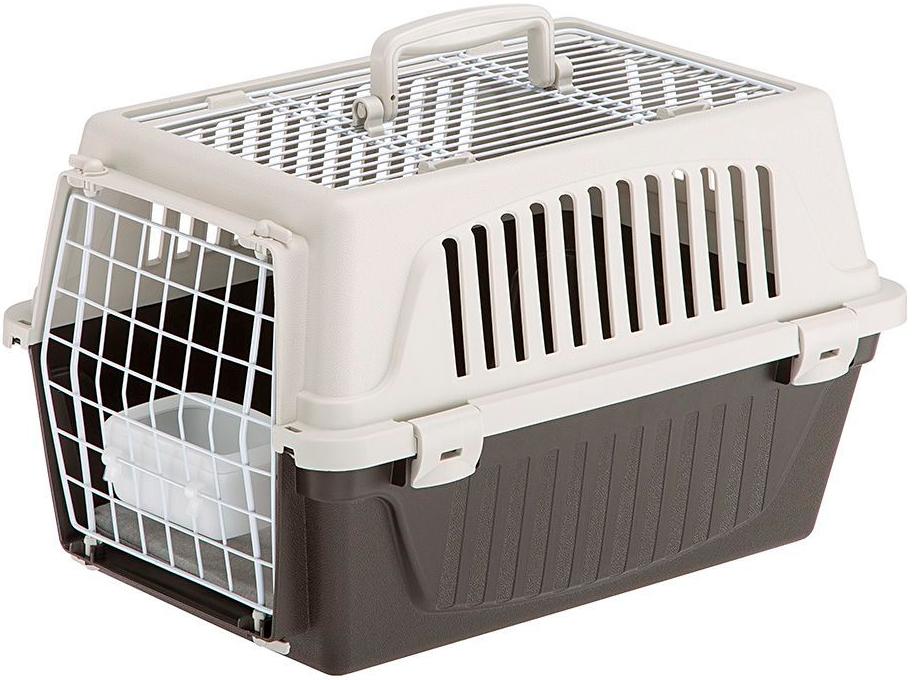 Переноска открытая Ferplast Atlas 10 Open для мелких собак и кошек 48х32.5х29 см (1 шт) переноска ferplast atlas 20 el для мелких собак и кошек 58х37х32 см бюджет 1 шт