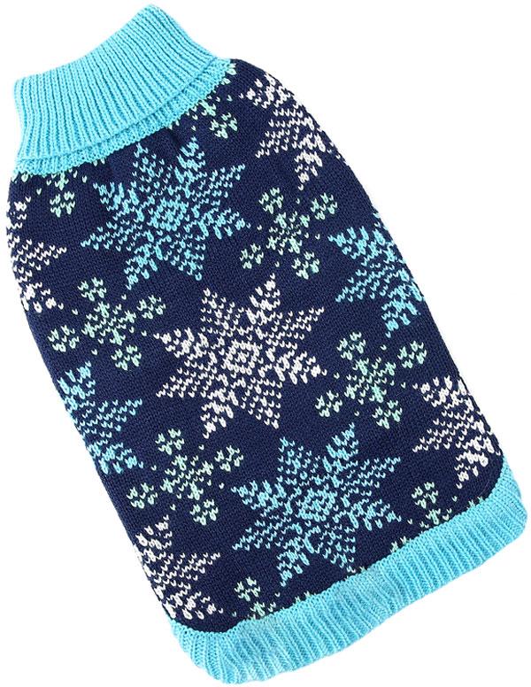 For My Dogs свитер для собак синий Fw830-2019 (16-18)
