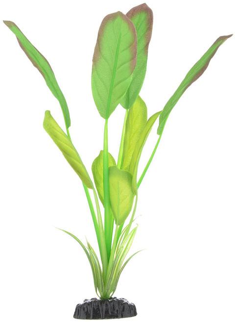 Растение для аквариума шелковое Эхинодорус Блейхери Barbus Plant 037 (30 см)