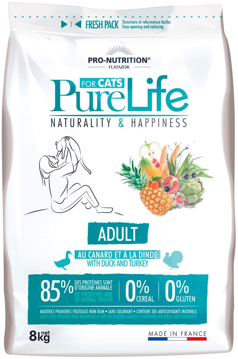 Flatazor Pure Life Adult для взрослых кошек (2 кг)