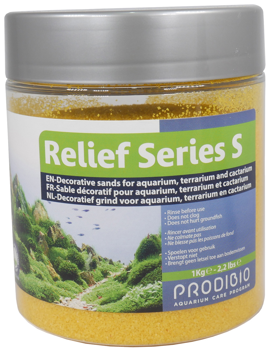 Грунт для аквариума Prodibio Relief Series