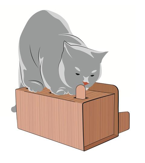 Интерактивная игрушка для кошек КЭТбоксинг антицарапки (1 шт)