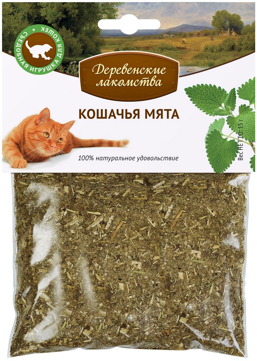 Лакомства деревенские кошачья мята (15 гр)