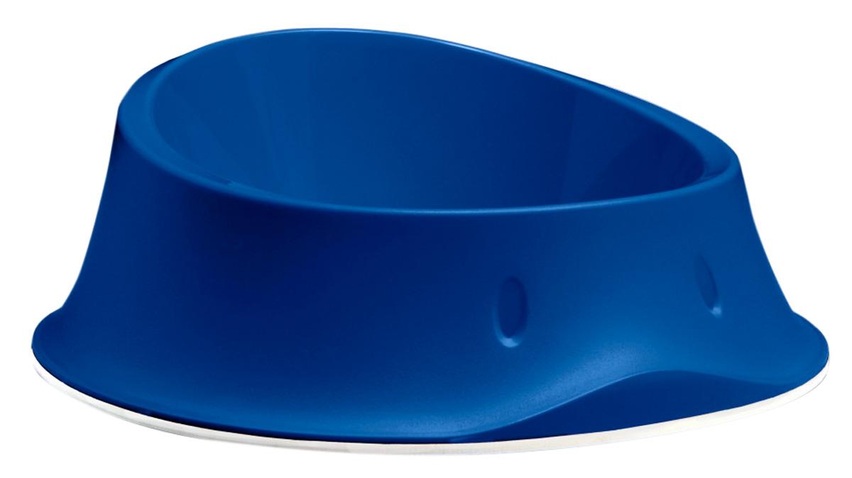 Миска нескользящая Stefanplast Chic темно синяя 0,65 л (1 шт) фото