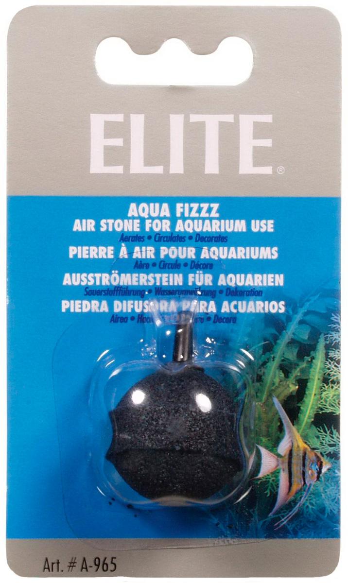 Распылитель воздуха Hagen Elite камень шарик черный большой (1 шт)