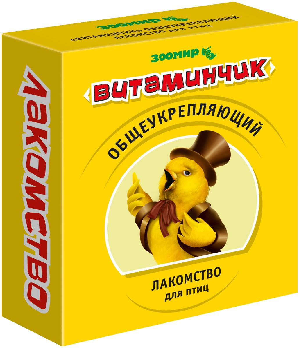 зоомир витаминчик лакомство для птиц общеукрепляющее 50 гр (1 шт)