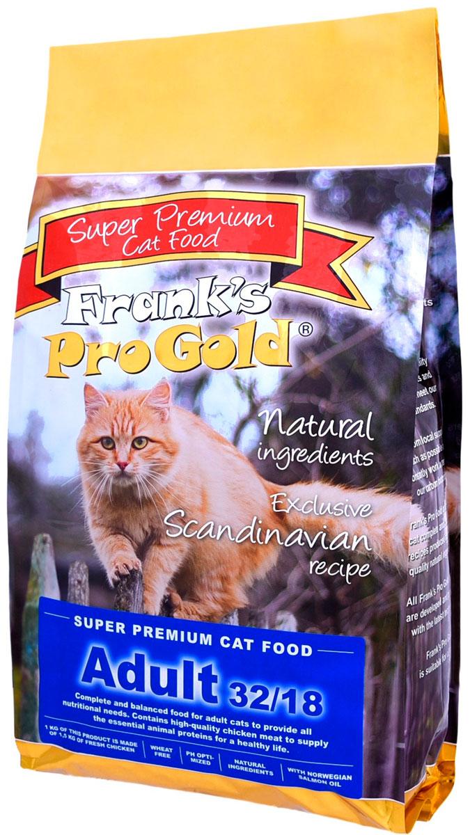 Frank's Progold Cat Adult для взрослых кошек с курицей (7,5 кг) фото