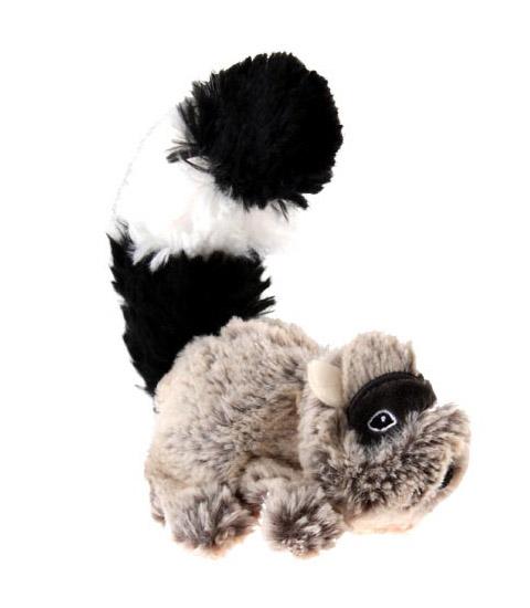 Игрушка для собак Енот с пищалкой особо прочный 16 см GiGwi (1 шт)