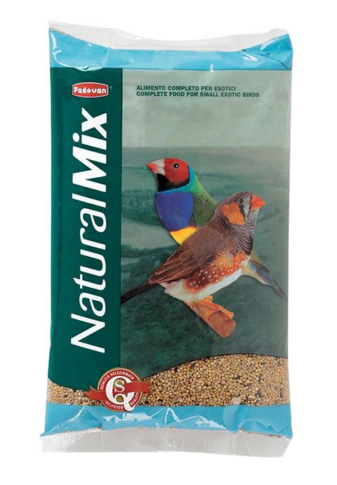 Padovan Naturalmix Esotici — Падован корм для экзотических птиц (1 кг) фото