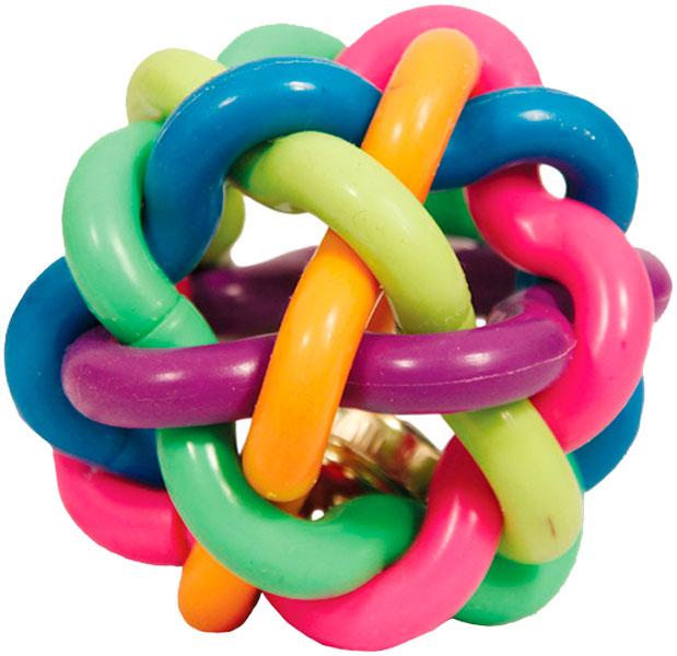 Triol игрушка для собак «Мяч Лабиринт» (5 см)