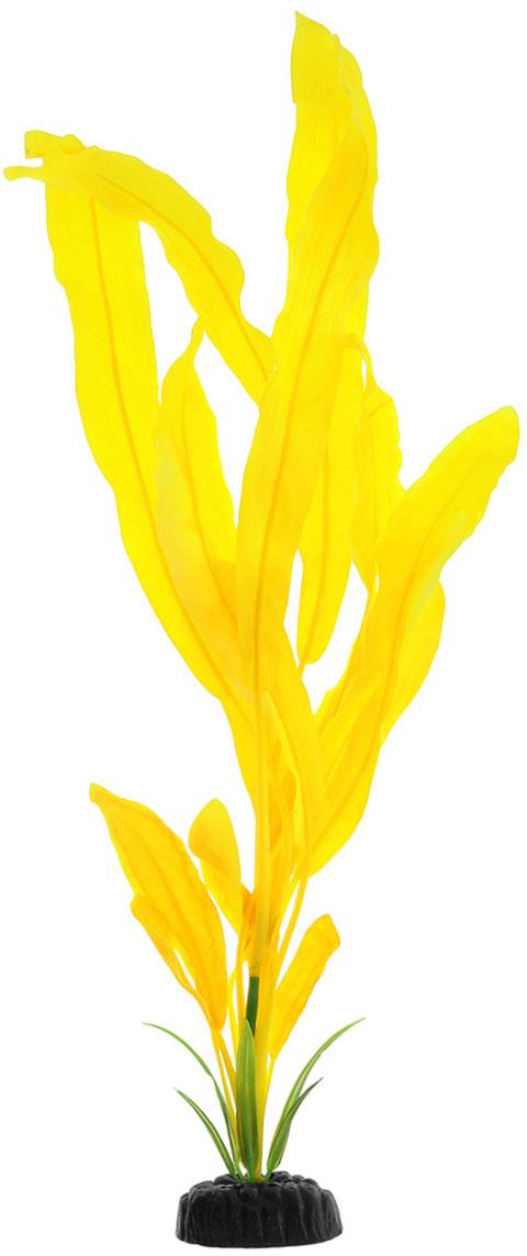 Растение для аквариума шелковое Эхинодорус желтый Barbus Plant 051 (20 см)