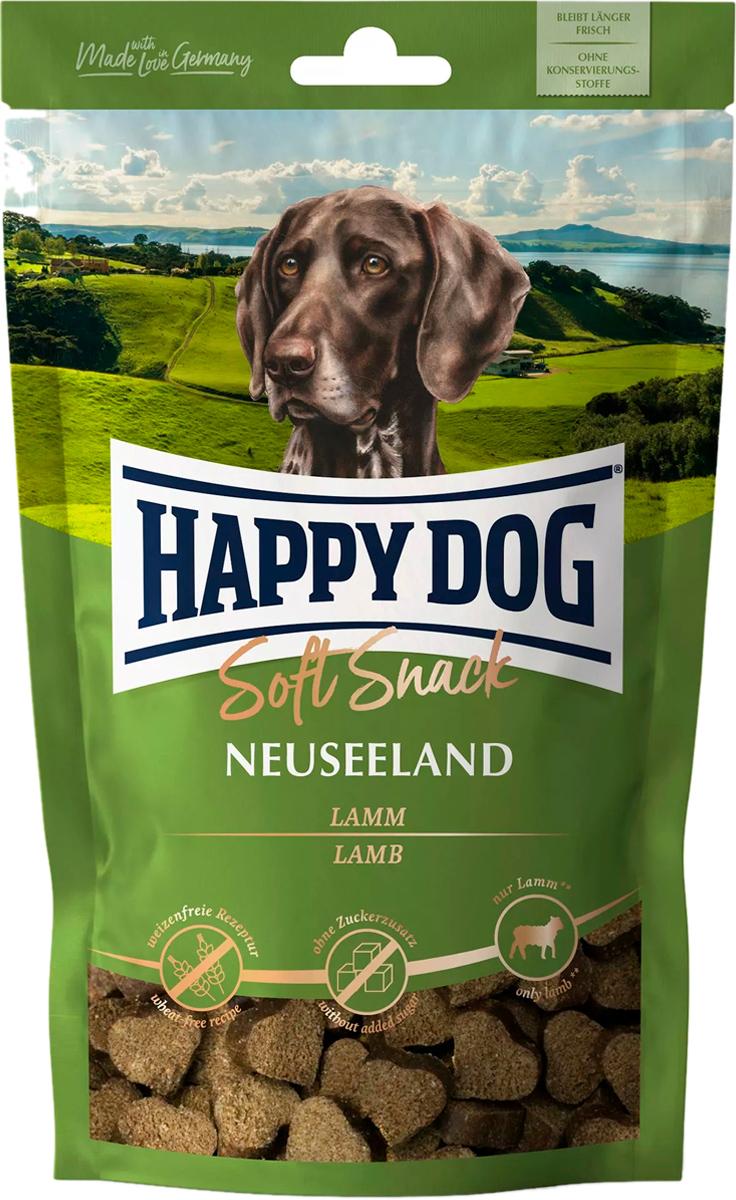 Лакомство Happy Dog Softsnack Neuseeland для взрослых собак всех пород с ягненком (100 гр)