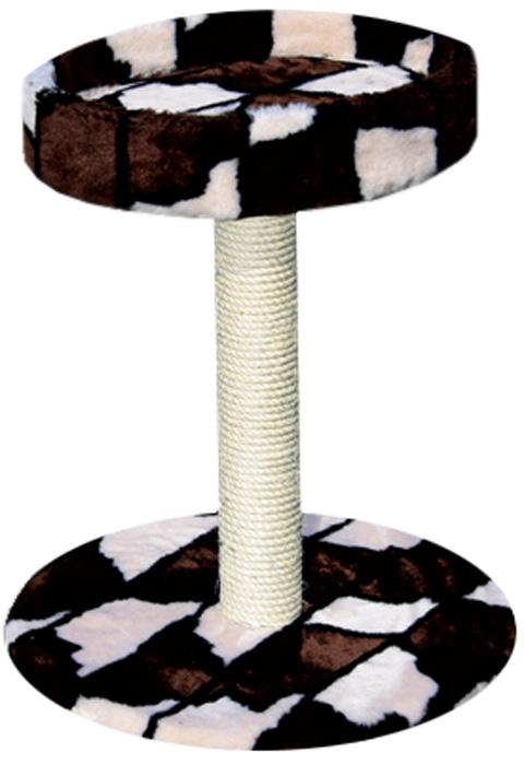 Когтеточка на подставке с лежанкой Зооник 50 х 50 х 59 см (1 шт)