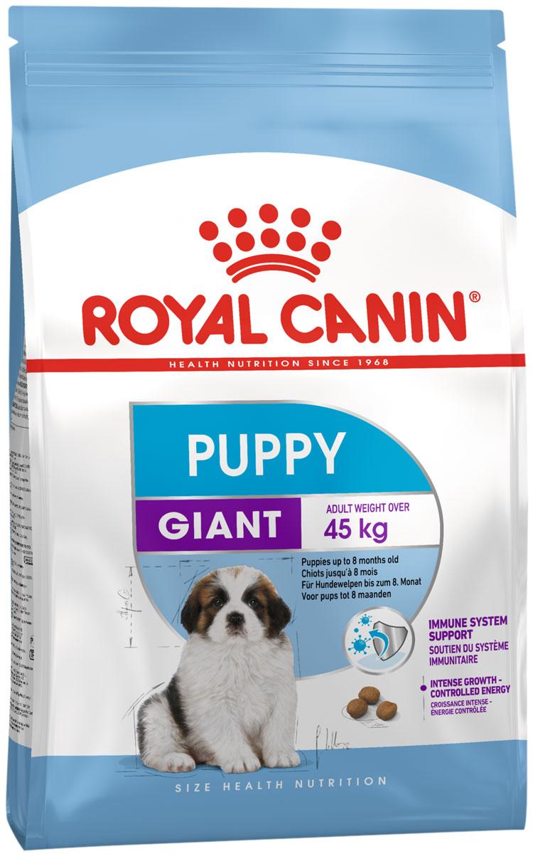 Royal Canin Giant Puppy для щенков крупных пород (15 + 15 кг)