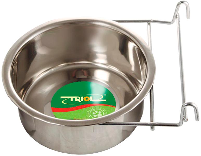 Triol миска для грызунов на крючках, металл