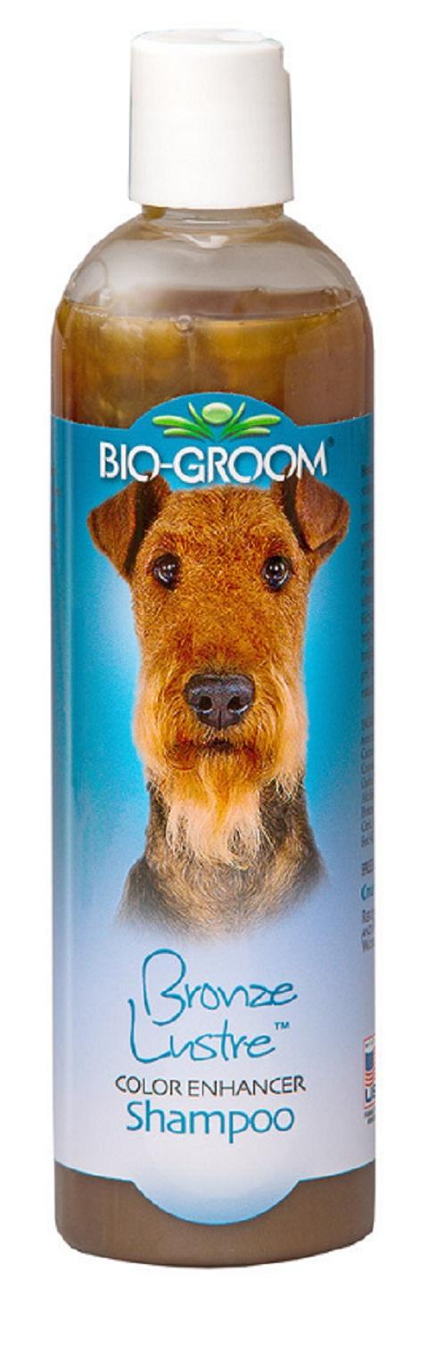 Bio-groom Bronse Lustre Shampoo – Био-грум шампунь для собак с окрасом шерсти коричневого спектра (355 мл)