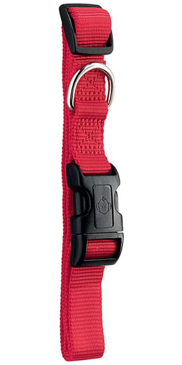 Ошейник для собак Hunter Smart Ecco M нейлон красный 20 мм 35 – 53 см (1 шт) фото
