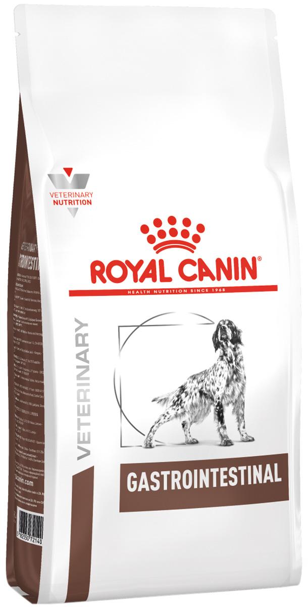 Royal Canin Gastro Intestinal для взрослых собак при заболеваниях желудочно-кишечного тракта (15 кг) royal canin gastro intestinal puppy для щенков при заболеваниях желудочно кишечного тракта 195 гр 195 гр
