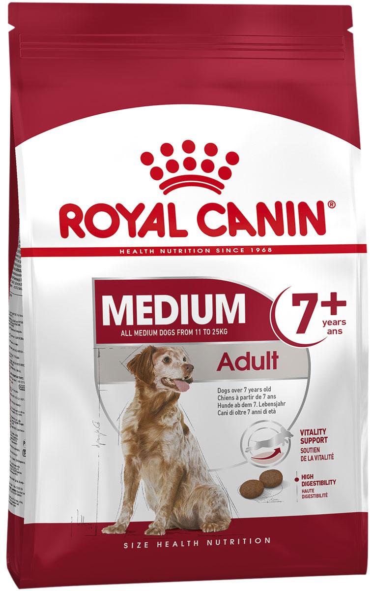Royal Canin Medium Adult 7+ для пожилых собак средних пород старше 7 лет (15 кг) фото