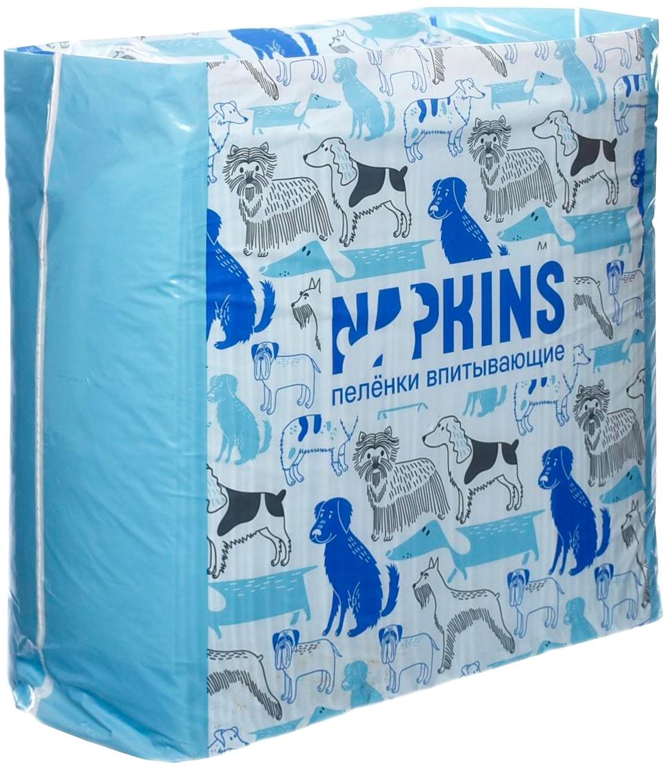 Napkins пеленки впитывающие гелевые для животных 60 х 90 см (5 шт)