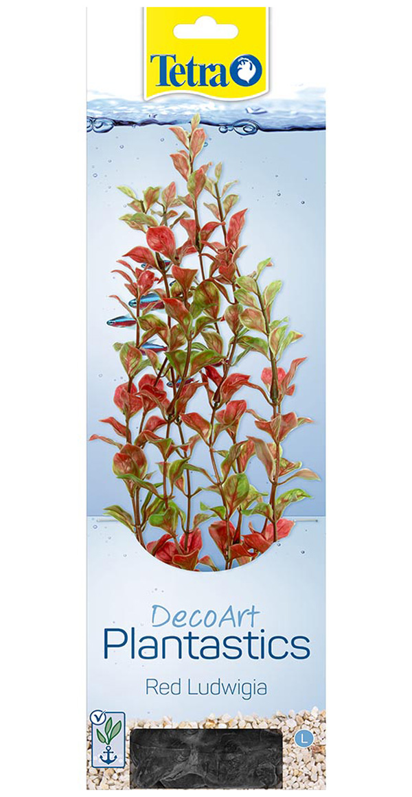 Растение для аквариума пластиковое Людвигия красная Tetra DecoArt Plant L Red Ludwigia 30 см (1 шт) фото