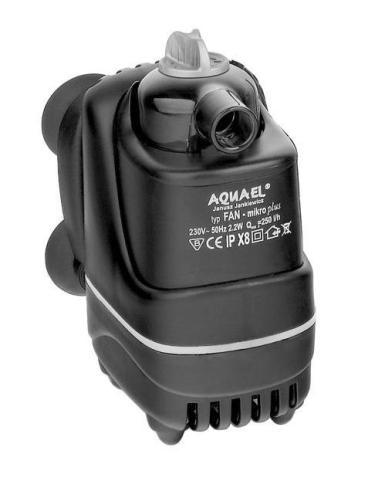 Фото - Внутренний фильтр Aquael Fan Micro Plus, 250 л/ч, для аквариумов объемом до 30 л (1 шт) внутренний фильтр aquael fan filter 3 plus для аквариума 150 250 л 700 л ч 12 вт