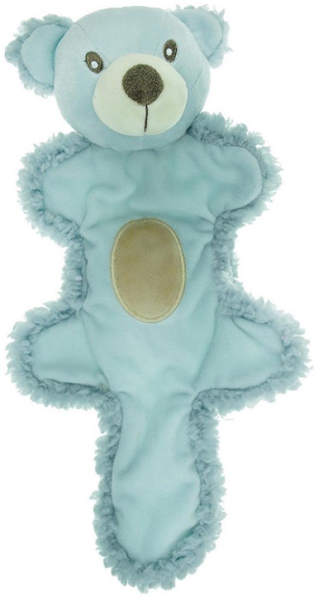 Игрушка для собак Aromadog Мишка с хвостом с эфирным маслом голубой 25 см (1 шт)