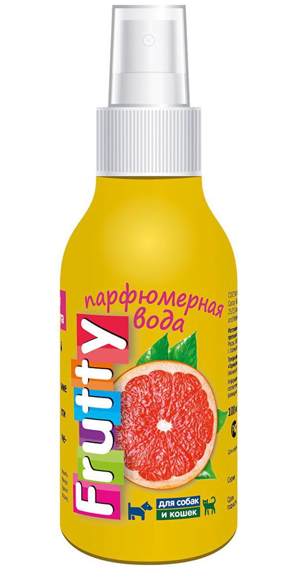Frutty Грейпфрут парфюмерная вода для собак и кошек авз (100 мл)