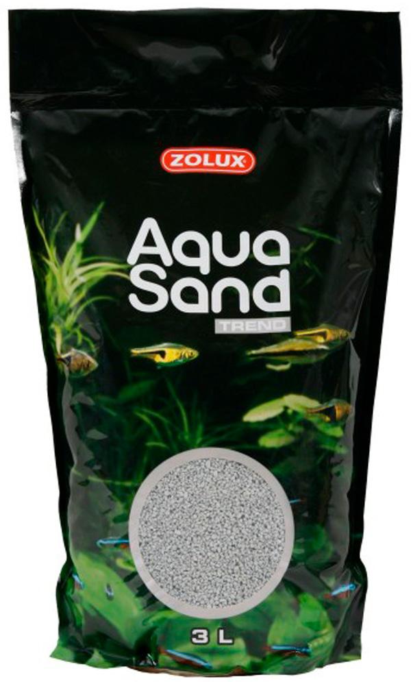 Грунт для аквариума Zolux Aquasand Flint Grey серый (47 кг).