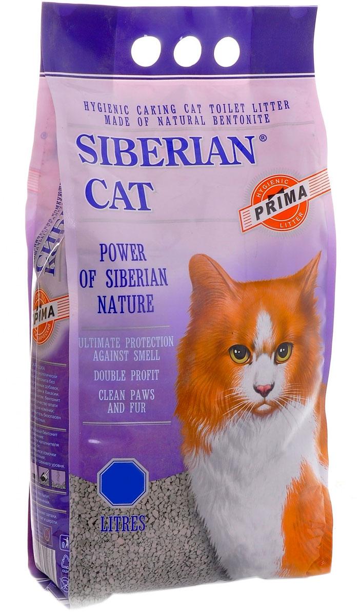 Фото - сибирская кошка прима наполнитель комкующийся для туалета кошек (5 л) комкующийся наполнитель цап царап антимикробный 5 л