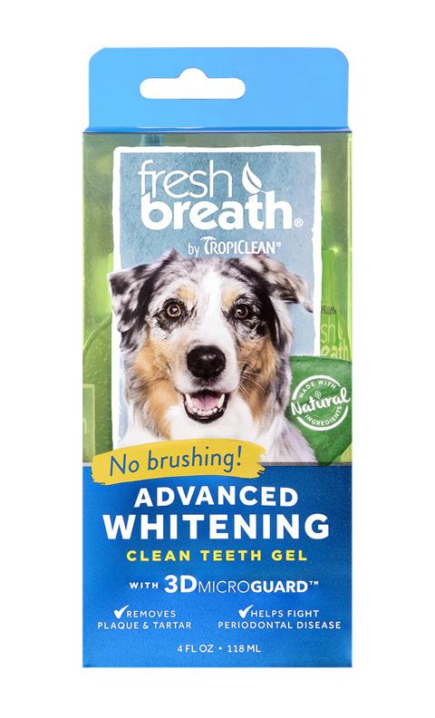 Tropiclean Fresh Breath Gel Advanced Whitening отбеливающий