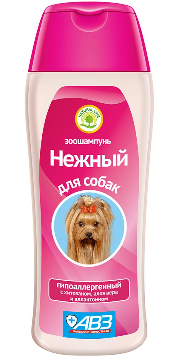 Шампунь Нежный гипоаллергенный для собак авз (270 мл)