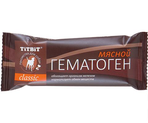 Лакомство Tit Bit Classic для собак гематоген мясной (1 шт)