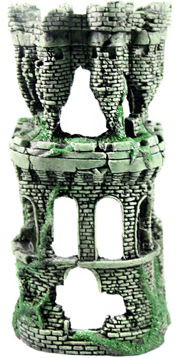 Грот для аквариума Крепость укрытие для помп
