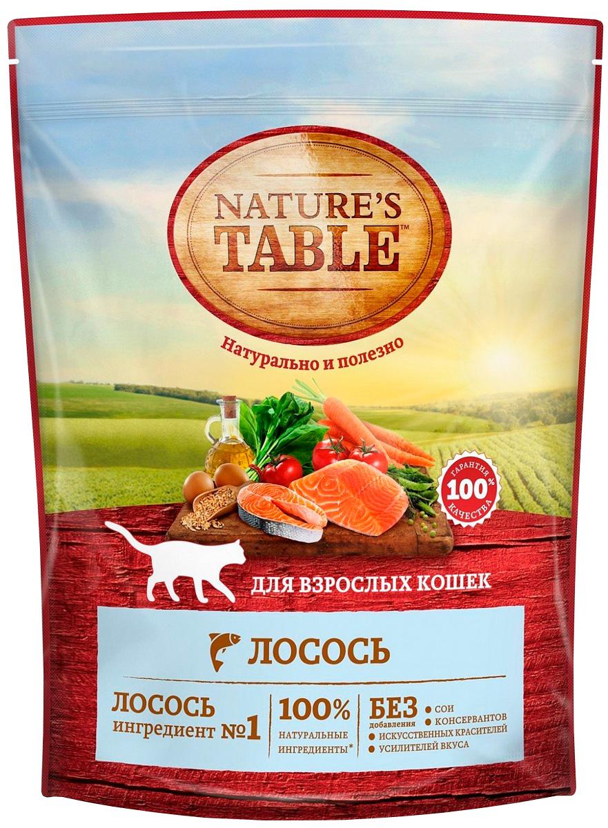 Nature's Table для взрослых кошек с лососем (019 кг).