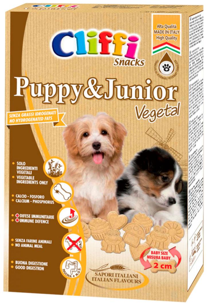 Лакомство Cliffi Puppy & Junior Щенячья радость для щенков всех пород печенье 300 гр (1 шт)