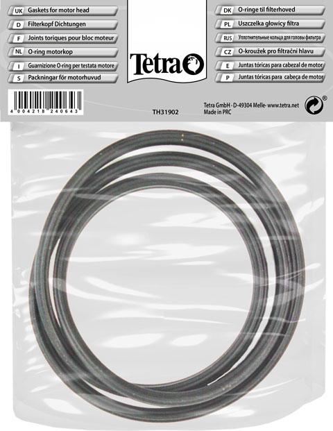 Кольцо уплотнительное для внешних фильтров Tetratec Ex 600/800 Plus (1 шт) набор трубок и зажимов для впуска воды для внешних фильтров tetratec ех 600 700 800 1 шт