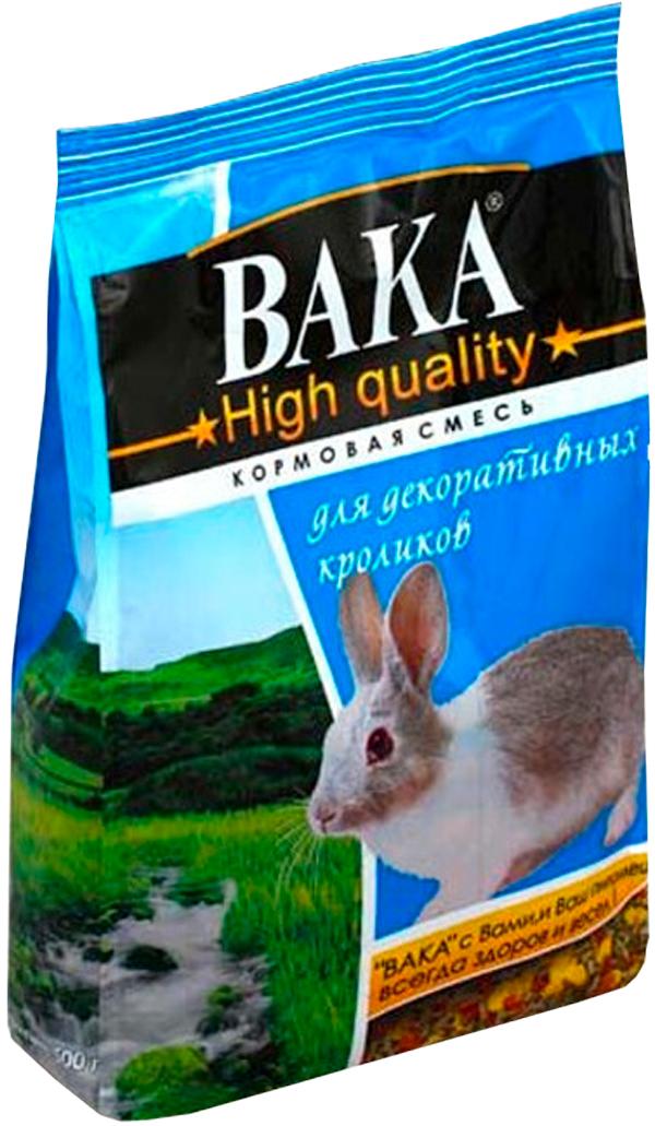 вака High Quality корм для декоративных кроликов (500 гр)
