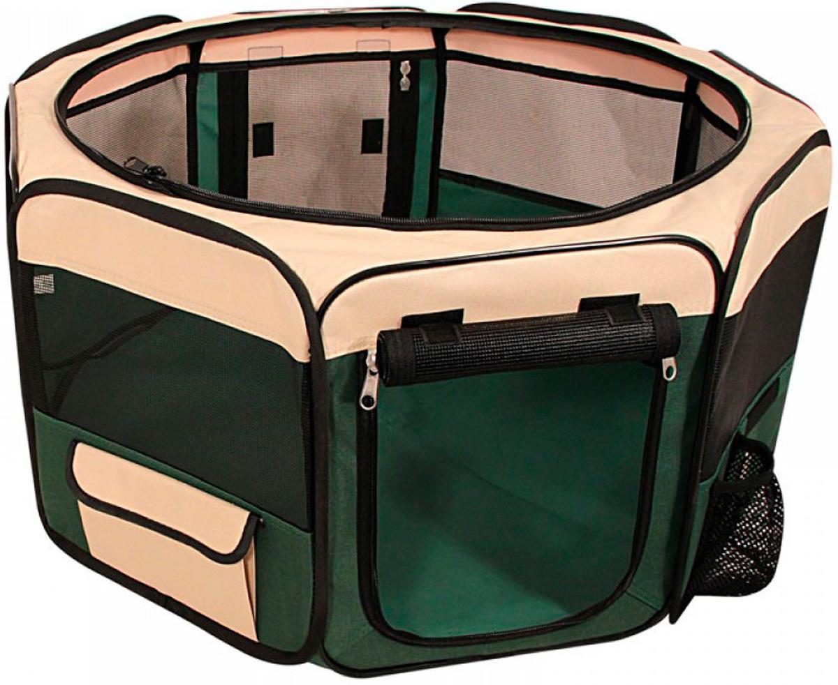 Вольер-тент для собак Troil 1048 Xxl бежево-зеленый 180 х 77 см (1 шт)