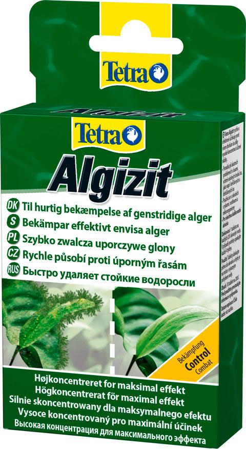 Фото - Tetra Algizit – Тетра средство для борьбы с водорослями быстрого действия 10 таблеток (1 шт) сачок прудовый для сбора водорослей без ручки tetra pond algae net head 1 шт