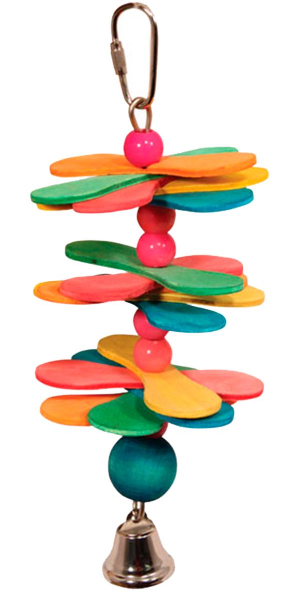 Игрушка для птиц Triol Br43 Ромашки (19 см) игрушка для птиц triol br43 ромашки 19 см