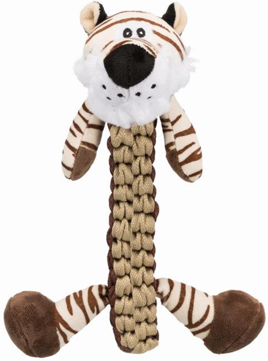 Игрушка для собак Trixie Тигр полиэстер с пищалкой 32 см (1 шт)