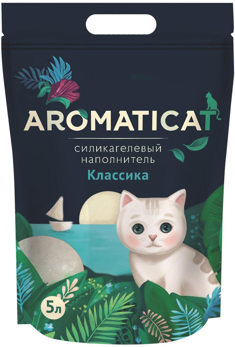 Aromaticat классика наполнитель силикагелевый для туалета кошек (5 л) фото