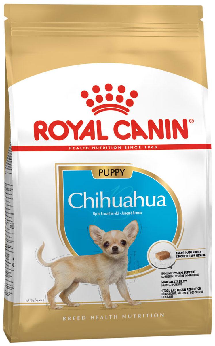 Royal Canin Chihuahua Puppy для щенков чихуахуа (1,5 + 1,5 кг)