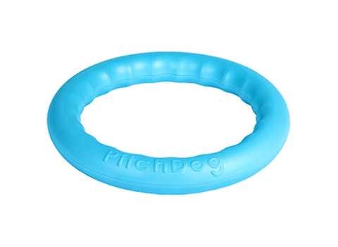 Кольцо для апортировки голубое 20 см PitchDog (1 шт)
