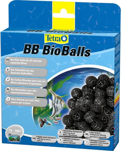 Наполнитель для фильтра Tetra Bb Bioballs 400/600/700/800/1200/2400 – био-шарики для крупной очистки (800 мл) фото