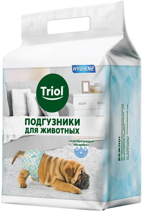 Фото - Triol Подгузники для собак S (20 шт) triol triol xxl подгузник для собак весом от 30 кг 10 шт