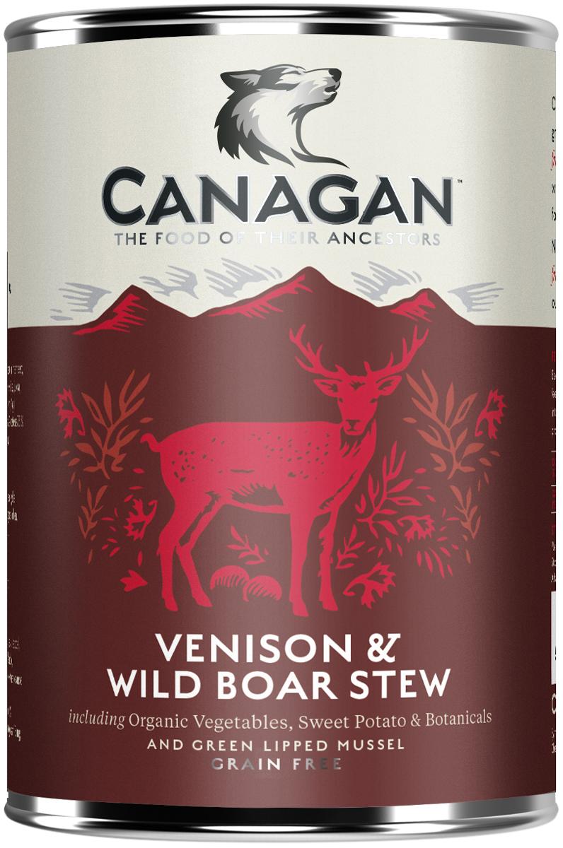 Canagan Grain Free Venison & Wild Boar Stew для взрослых собак рагу из оленины и дикого кабана 400 гр (400 гр)