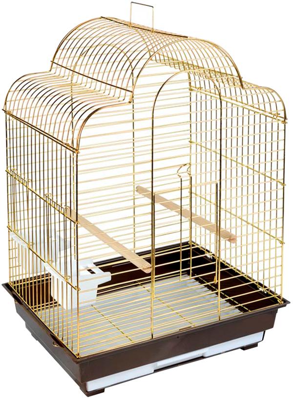 Клетка для птиц Triol 1301g золото